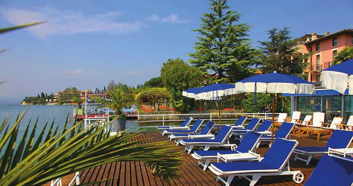 Terrazza - Hotel Flaminia - Sirmione sul Garda